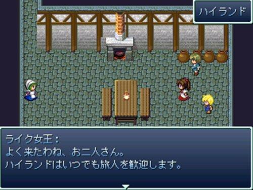 お気楽珍道中~仲良しコンビの放浪物語~ Game Screen Shot1