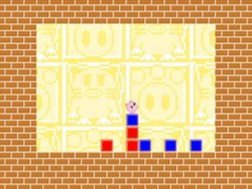 ねこぶたアヤちゃんの色々ブロック Game Screen Shots