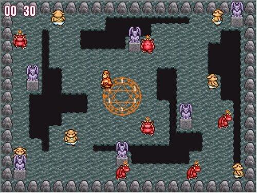 共食いゲー Game Screen Shot1