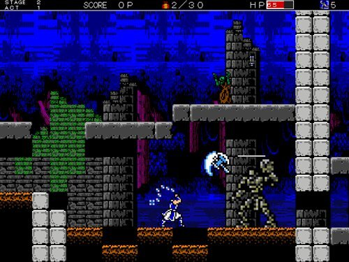魔断戦記classic Game Screen Shot1