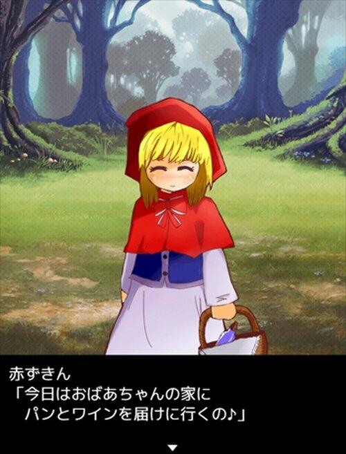もし赤ずきんの世界にSNSがあったら【スマホ対応】 Game Screen Shot2
