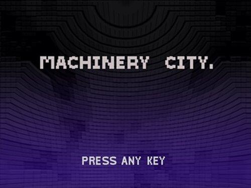 マシンナリシティ Game Screen Shot5