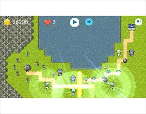 ボンバータワーディフェンス Game Screen Shots