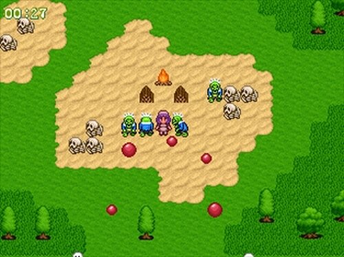 ゴーストバスター麗菜 Game Screen Shot3