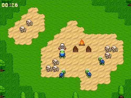 ゴーストバスター麗菜 Game Screen Shot4
