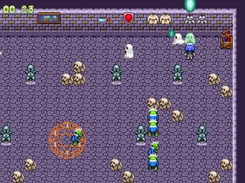 ゴーストバスター麗菜 Game Screen Shot5