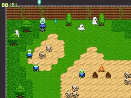 ゴーストバスター麗菜 Game Screen Shots