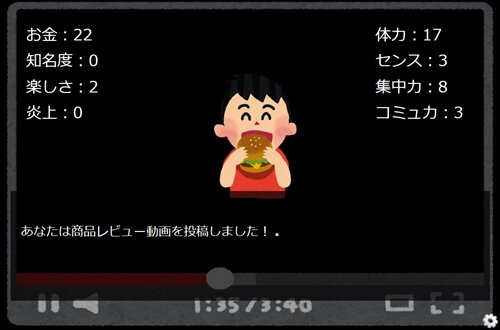 Youtuberになろう! Game Screen Shot1