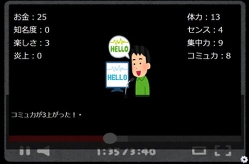Youtuberになろう! Game Screen Shot4