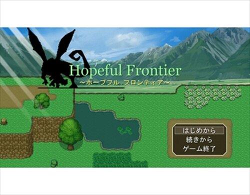 Hopeful Frontier Game Screen Shots
