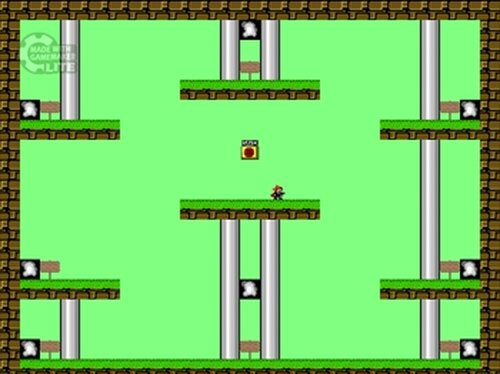 I wanna be the Gravity Master Game Screen Shot4