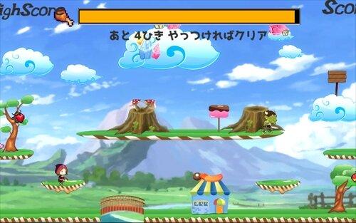 はらぺこウィッチ(ブラウザ版) Game Screen Shot1