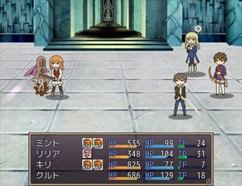 Manalta Lia-神話の終わりの魔術師- Game Screen Shots