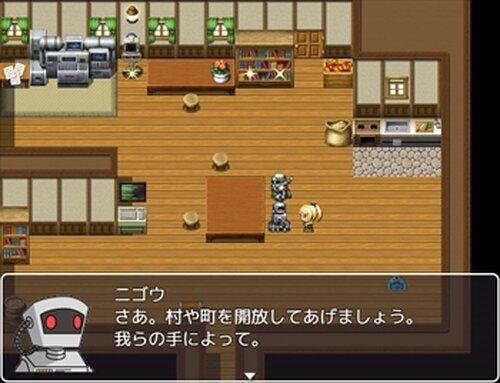 かってにバトル勇者 Game Screen Shot2