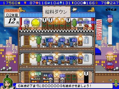 ありがとう!ワタシの経営+ Game Screen Shot1