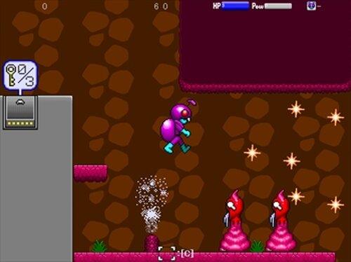 スカラベキッド Game Screen Shot3