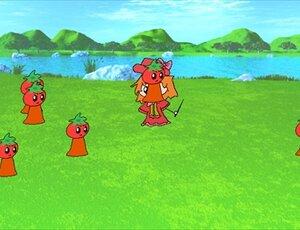 10月10日はトマトの日 Game Screen Shot