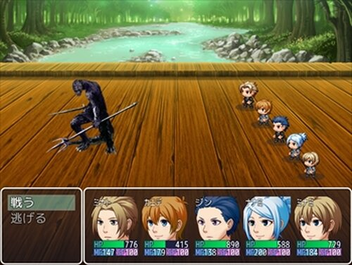 インセクト・ソード IF Game Screen Shot3