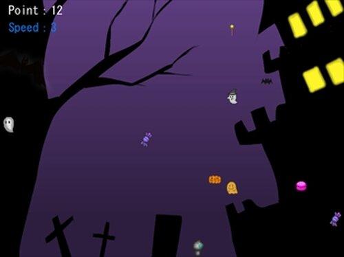 ロボネコのハロウィン2018 Game Screen Shot4