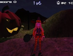 ホーンテッド・ハロウィン! Game Screen Shot