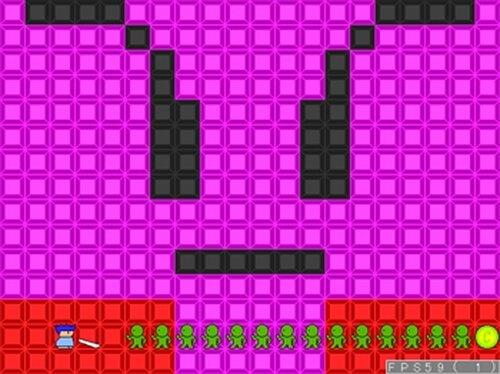 試作アクション2 Game Screen Shot4