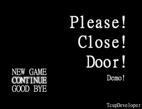 Please!Close!Door! Demo Game Screen Shot2