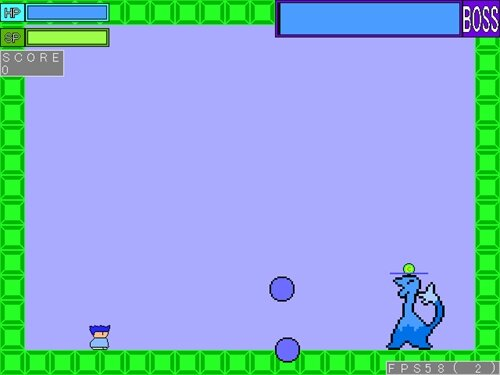 ヤシーユのイロスマ冒険 Game Screen Shot1