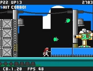 疾風戦記フォースギア外伝・失われたカレー Game Screen Shot