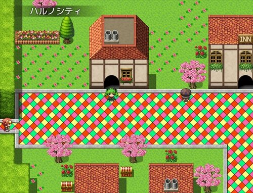 猫の少女のRPG Game Screen Shot1