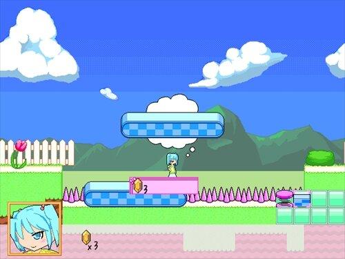 エルサーパのギミックランド Game Screen Shot1