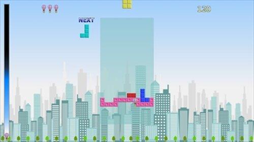 フォーリンブロック・ライジンバルーン Game Screen Shot3