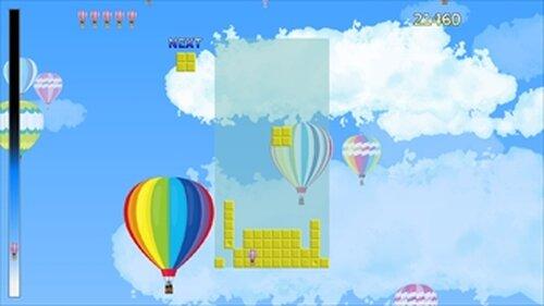 フォーリンブロック・ライジンバルーン Game Screen Shot5