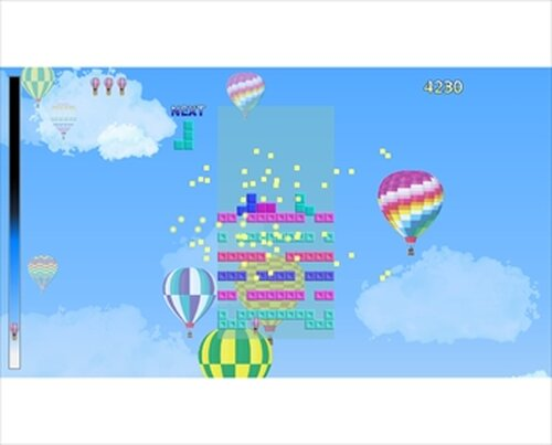 フォーリンブロック・ライジンバルーン Game Screen Shots