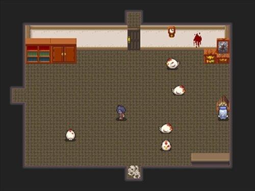 ウルファールとゾンビの館 Game Screen Shot3