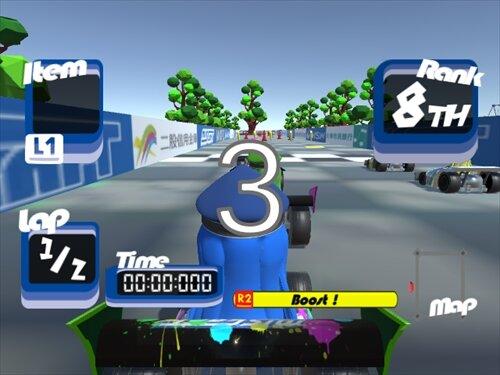 MIS CART Game Screen Shot