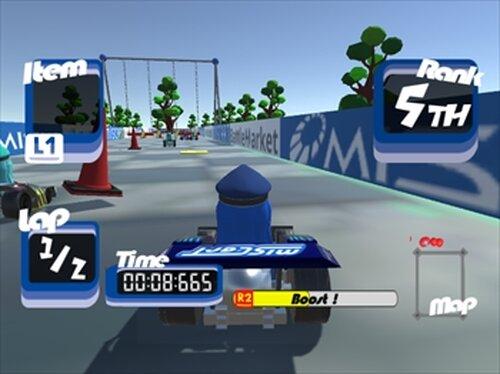 MIS CART Game Screen Shot4