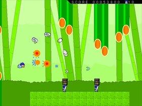 ヤシーユのいきぬきシューティング Game Screen Shot2