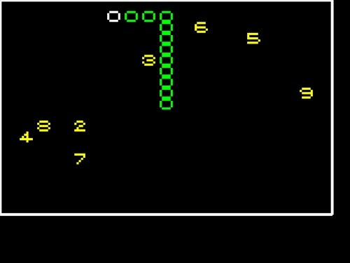 数字へびゲームCGGPYG Game Screen Shot1