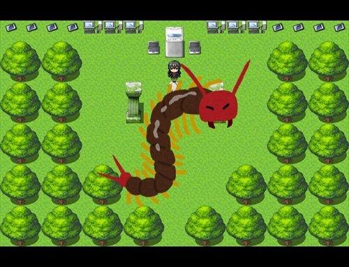 ムカデの迷宮 Game Screen Shot1