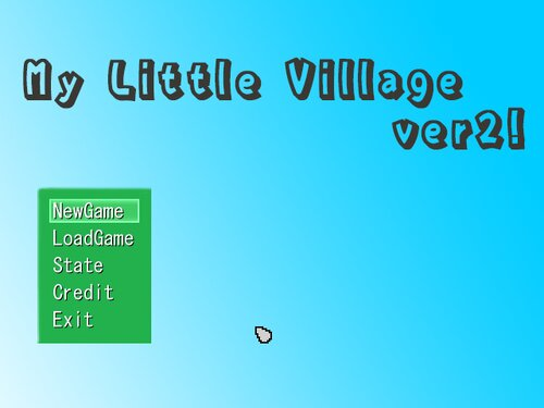 My Little Village Game Screen Shot1
