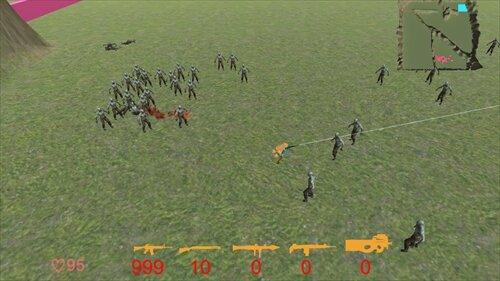 Unitychan Shooter Game Screen Shot1