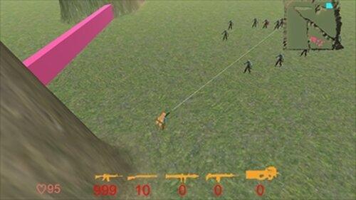 Unitychan Shooter Game Screen Shots