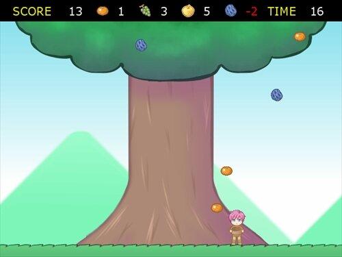 閉店を防ぐために励むのだ 果実を全力きゃっち Game Screen Shot1