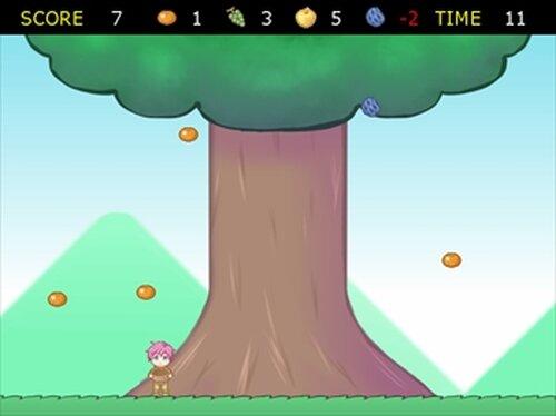 閉店を防ぐために励むのだ 果実を全力きゃっち Game Screen Shot3