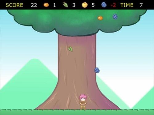 閉店を防ぐために励むのだ 果実を全力きゃっち Game Screen Shots