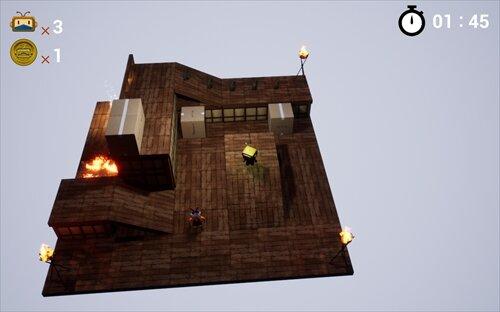 PaperNinja Game Screen Shot