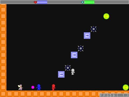 試作アクション3 Game Screen Shot1
