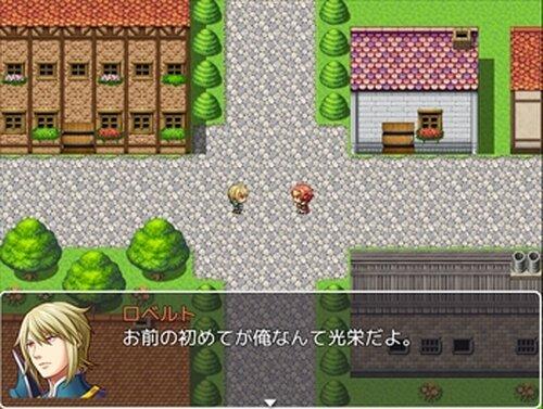 お姫様と結ばれそうになるけど結局ホモエンドになるRPG Game Screen Shot2