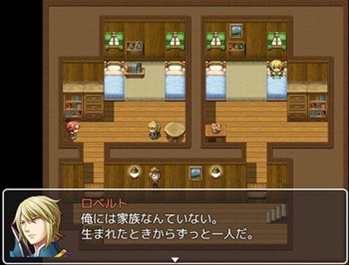 お姫様と結ばれそうになるけど結局ホモエンドになるRPG Game Screen Shot3