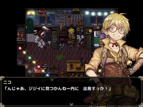 ニコと呪いの水没図書館 Game Screen Shots